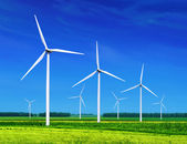 Wind turbines — Foto de Stock