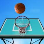 Basketball hoop l — Stock Photo
