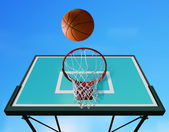 Basketball hoop l — Stock Photo