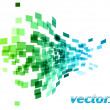 Vector de stock : Wave square
