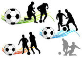 Soccer — 图库矢量图片