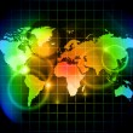 Rainbow world — Stock Vector