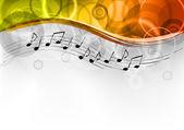 Musik bakgrund — Stockvektor