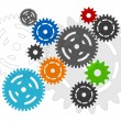 Royalty-Free Stock Vector Image: Cogwheels