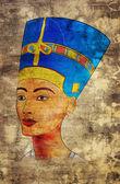 Nefertiti — Zdjęcie stockowe