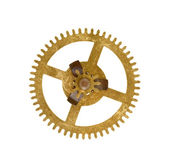 Cog wheel on white background — Stock Photo