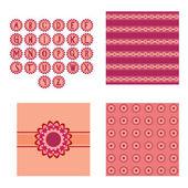 Seamless wallpaper — Vector de stock
