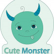 Stock Vector: Cute Monster