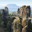 Bastei bridge — Stock Photo