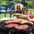 Stock Photo: Barbecue grill