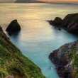 Sunset over Dingle Peninsula — Stock Photo