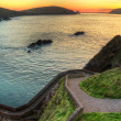Stock Photo: Sunset over Dingle Peninsula