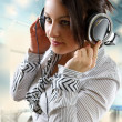 Listening to the music — Stock Photo #5588702