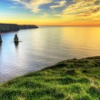 Cliffs of Moher in Ireland - Foto Stock