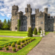 Medieval Ashford castle — Stock Photo