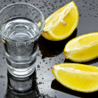 Vodka shot — Stockfoto