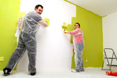 Home painting — Stock Photo