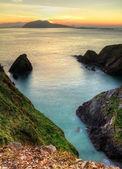 Sunset over Dingle Peninsula — Stock Photo