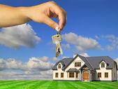 Keys to new home — Stock Photo