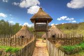 Iron age settlement of Craggaunowen — Stock Photo