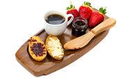 Cntinental breakfast — Stock Photo
