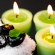 Royalty-Free Stock Photo: Spa candles
