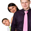 Royalty-Free Stock Photo: Happy family together