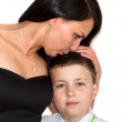 Stock Photo: Mother with son