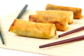 Chinese springrolls — Stock Photo