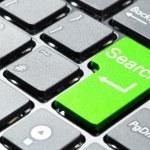 Green search button — Stock Photo #5876886