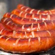 Grilled sausages — Stock fotografie
