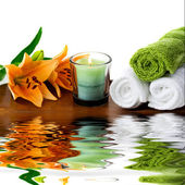 Spa accessories — Stockfoto