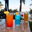 Stock Photo: Tropical drinks