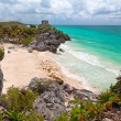 Lost city of Tulum - Stock Photo