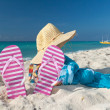 Foto Stock: Perfect vacations accessories