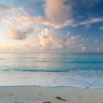 Idyllic beach at sunrise — Stock Photo #6231949