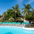 Tropical resort — Stockfoto