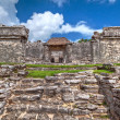 Archaeological ruins of Tulum — Stock Photo #6308467