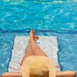 Relaxing on holiday — Stock Photo