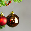 Stock Photo: Baubles decoration