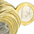 One euro — Stock Photo