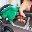 Refilling fuel — Stock Photo