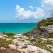 Lost city of Tulum — Stock Photo #6602741