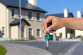 Keys to new home — Stock Photo