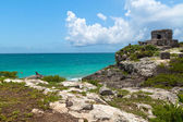 Lost city of Tulum — Stock Photo