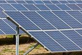Collettori solari — Foto Stock