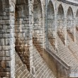 Architectural feature bridge dam in Sedlice, Europe, Czech Republic — Stock Photo #5433970
