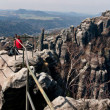 Panorama Saxon Switzerland — Stock Photo