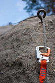 Climbing equipment — Stock Photo