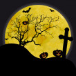 Royalty-Free Stock Photo: Halloween scene